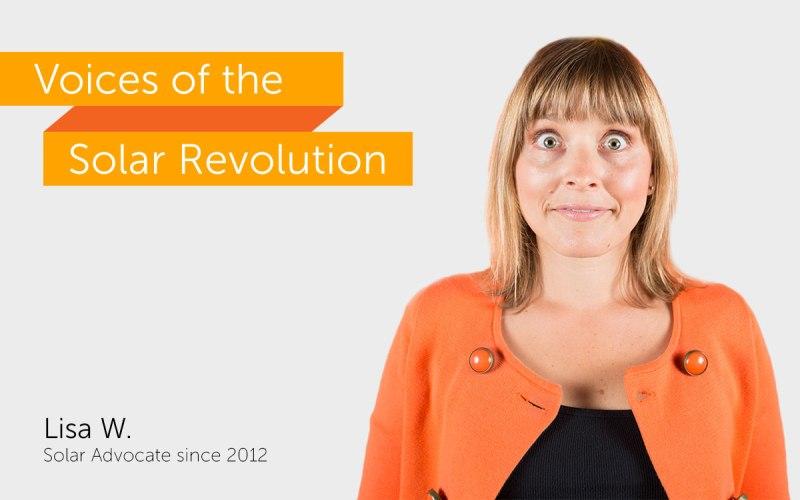 Lisa W., Solar Advocate Since 2012