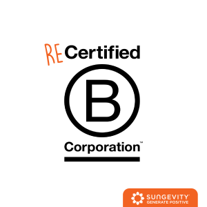 Sungevity is recertified as a B corporation
